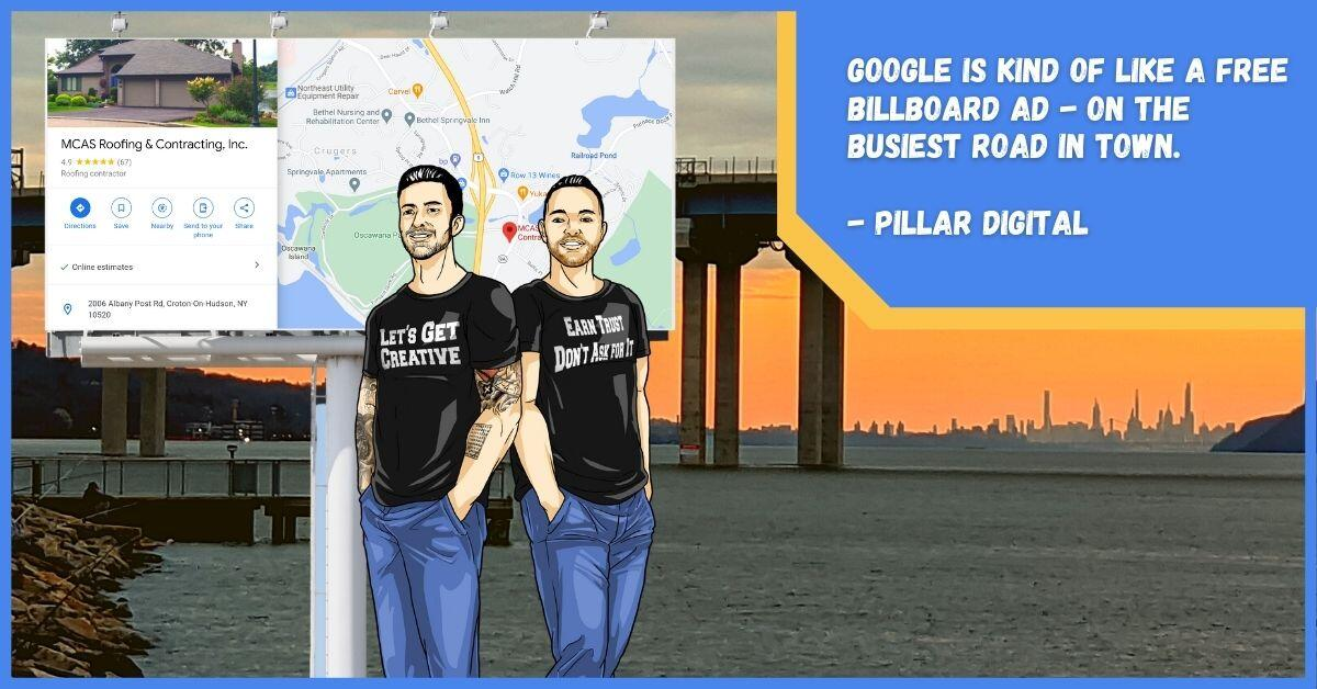 Google local listing is the best way to stand out locally